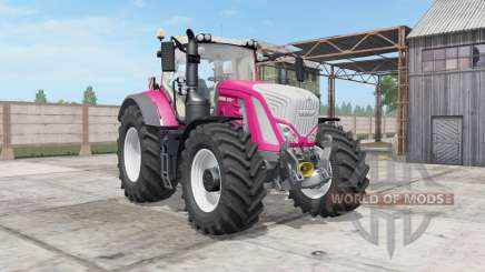 Fendt 930-939 Vario persian rose for Farming Simulator 2017