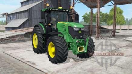John Deere 6250R spanish green for Farming Simulator 2017