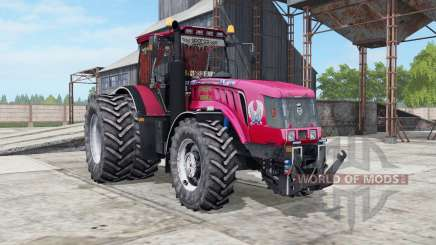 MTZ-3022ДЦ.1 Belarus a bright red color for Farming Simulator 2017