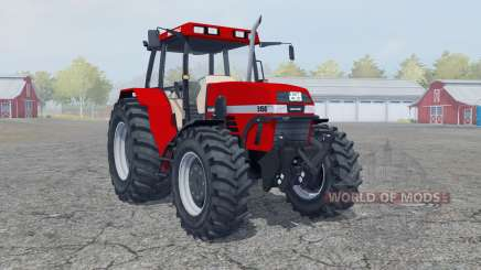 Case IH Maxxum 5150 boston university red for Farming Simulator 2013