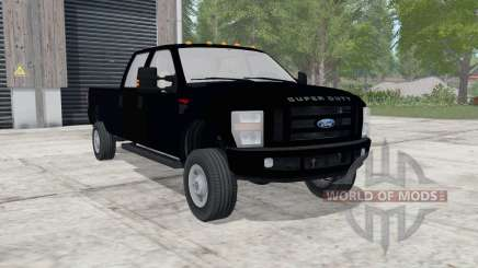 Ford F-350 Super Duty XLT Crew Cab for Farming Simulator 2017