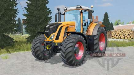 Fendt 927-939 Vario pastel orange for Farming Simulator 2015