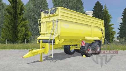 Krampe Bandit 750 golden fizz for Farming Simulator 2015
