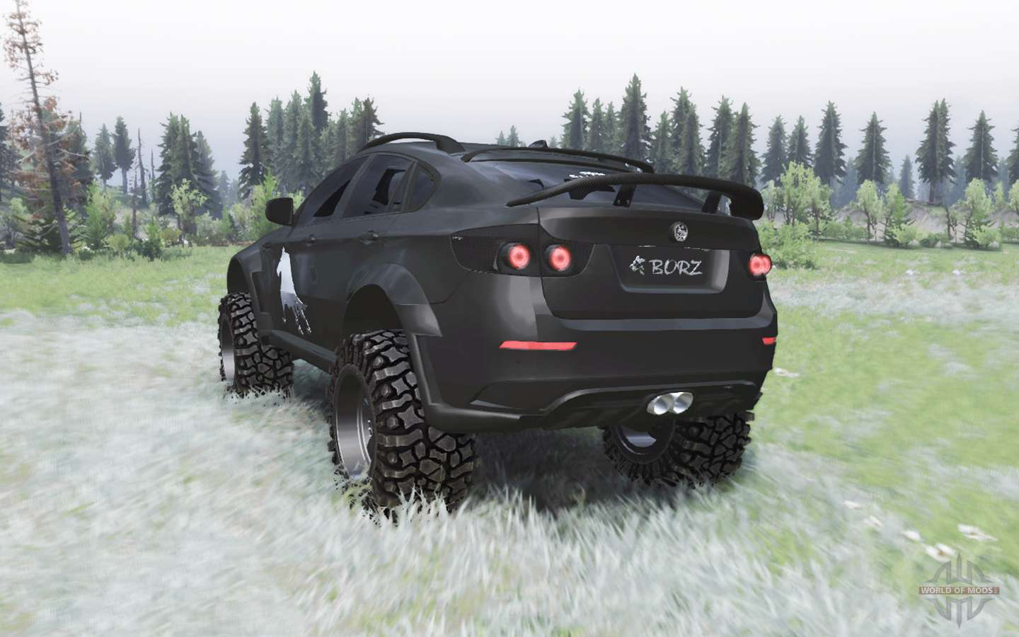 Bmw X6 M E71 Borz For Spin Tires