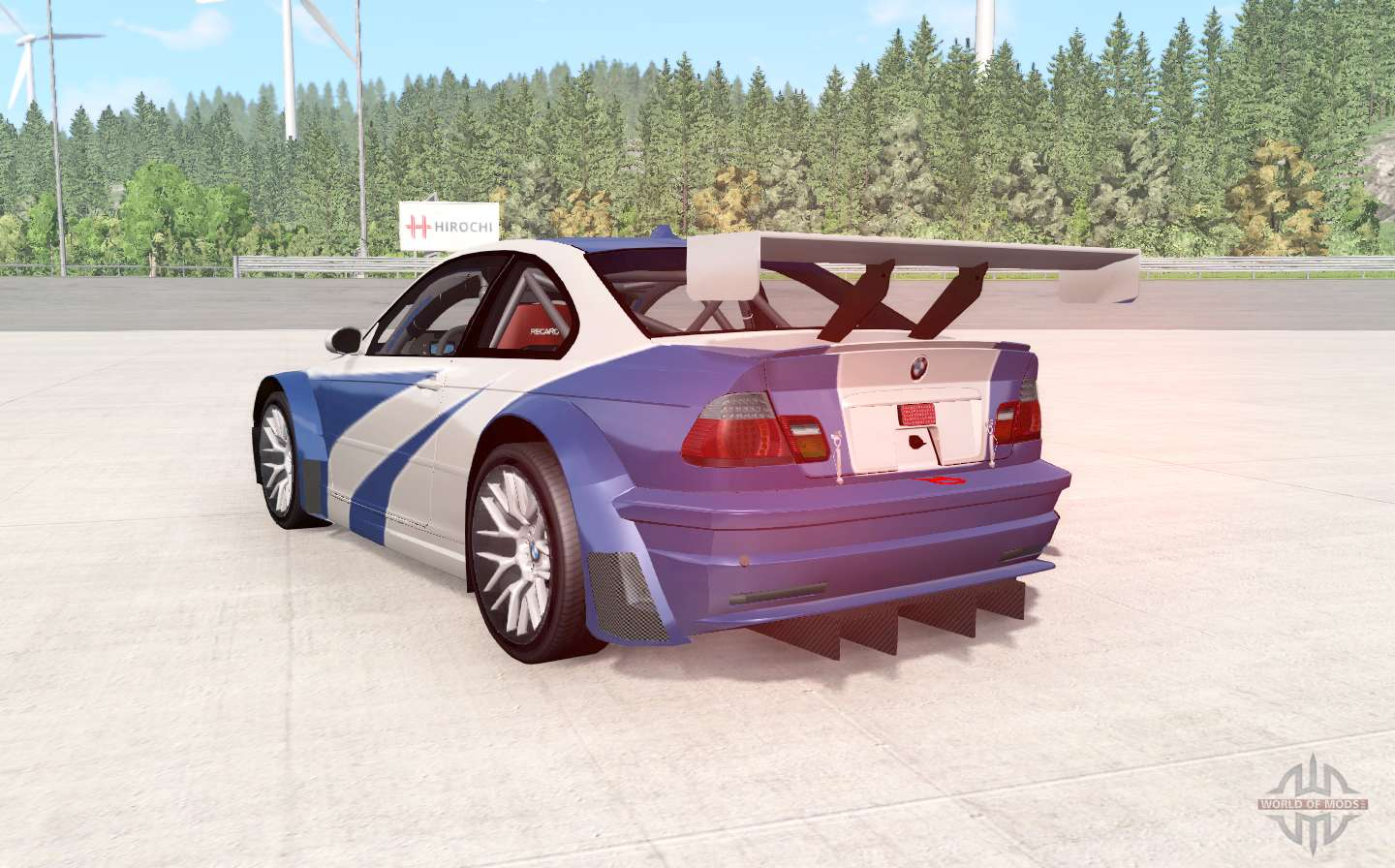Bmw M3 Gtr E46 Nfs Mw Edition For Beamng Drive