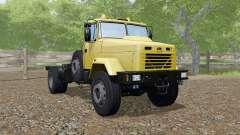 KrAZ-5133 yellow color for Farming Simulator 2017