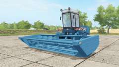 Fortschritt E 302 curious blue for Farming Simulator 2017
