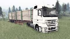 Mercedes-Benz Actros (MP3) for Spin Tires