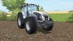 Valtra T163 columbia blue for Farming Simulator 2017