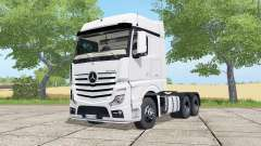 Mercedes-Benz Actros LS BigSpace (MP4) for Farming Simulator 2017