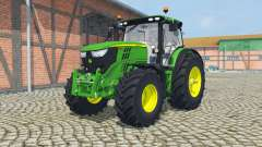 John Deere 6170R&6210R manual ignition for Farming Simulator 2013