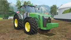 John Deere 8370R wheels shader for Farming Simulator 2015