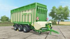 Krone ZX 550 GD malachite for Farming Simulator 2017