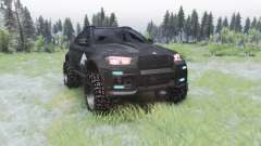 BMW X6 M (E71) BORZ for Spin Tires
