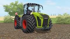Claas Xerion 5000 Trac VC apple green for Farming Simulator 2017