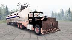 Mack R600 The Tanker for Spin Tires