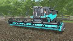 Torum 760 turquoise color for Farming Simulator 2017