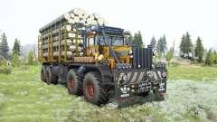 Kirovets K-700A 8x8 for MudRunner