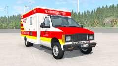 Gavril H-Series German Ambulance v1.3 for BeamNG Drive