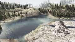 Settlements on the slopes for MudRunner