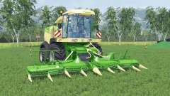Krone BiG X 580 lime greeɳ for Farming Simulator 2015