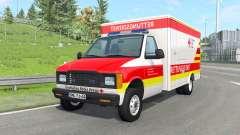 Gavril H-Series German Ambulance v1.4 for BeamNG Drive