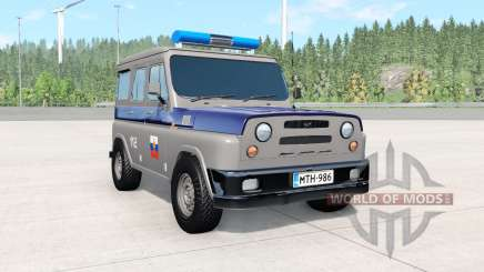 UAZ Antigenic COP for BeamNG Drive