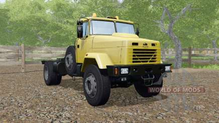 KrAZ-5133 yellow color for Farming Simulator 2017