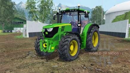 John Deere 6150R islamic green for Farming Simulator 2015