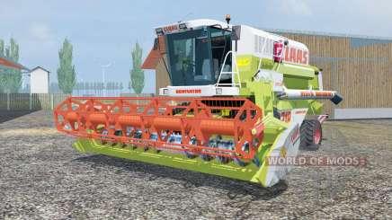 Claas Mega 218 MoreRealistic for Farming Simulator 2013