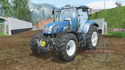 New Holland T6.175 BluePower halogen for Farming Simulator 2015