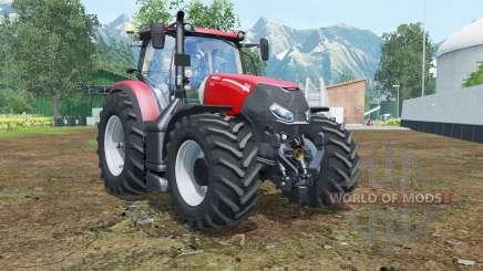 Case IH Optum 300 CVX vivid red for Farming Simulator 2015