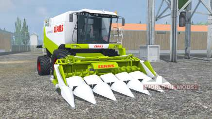 Claas Lexion 550 vivid lime green for Farming Simulator 2013