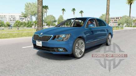 Skoda Superb sedan (3T) 2013 for American Truck Simulator