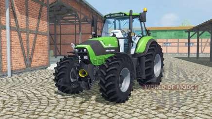Deutz-Fahr Agrotron TTV 6190 front loader for Farming Simulator 2013