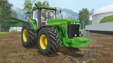 John Deere 8400 wheel shader for Farming Simulator 2015