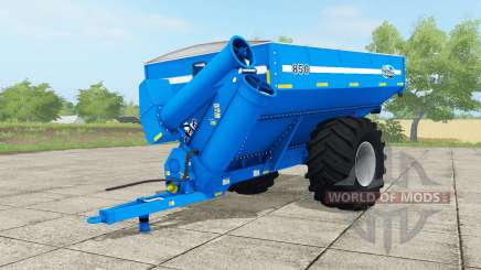 Kinze 850 vivid cerulean for Farming Simulator 2017