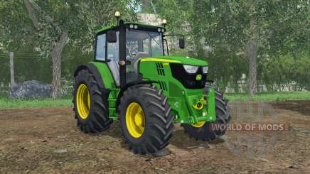 John Deere 6115M FL console for Farming Simulator 2015