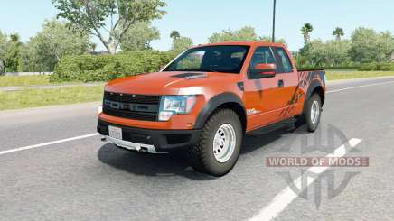 Ford F-150 SVT Raptor SuperCab 2009 for American Truck Simulator