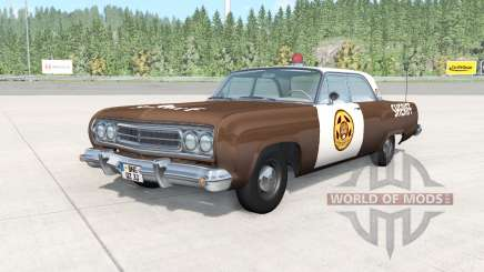 Gavril Bluebuck Storybrooke Sheriffs Department for BeamNG Drive