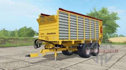 Veenhuis W400 saffron for Farming Simulator 2017