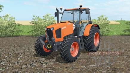 Kubota M135GX 2012 for Farming Simulator 2017