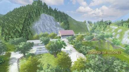 The Alps v1.5 for Farming Simulator 2013