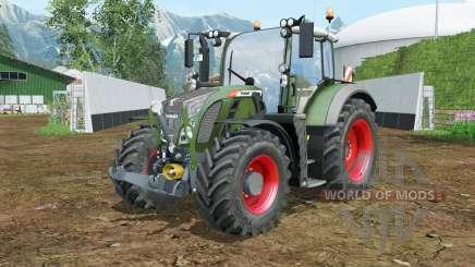 Fendt 714-724 Vario FL console for Farming Simulator 2015