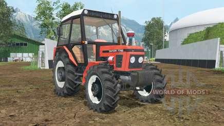 Zetor 7745 wheels shader for Farming Simulator 2015