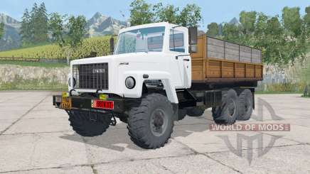 GAZ-3309 triaxial for Farming Simulator 2015