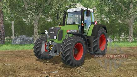 Fendt 818 Vario TMS may green for Farming Simulator 2015