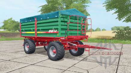 Metaltech DB 14 munsell green for Farming Simulator 2017