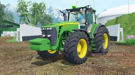 John Deere 8130 dark pastel green for Farming Simulator 2015