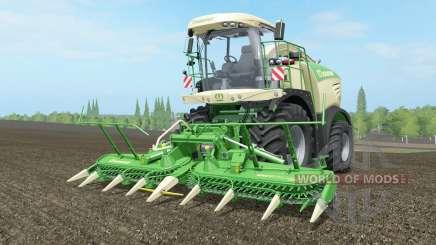 Krone BiG X 580 long ꝓipe for Farming Simulator 2017